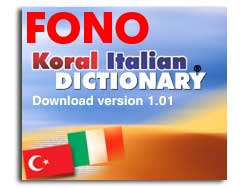 KORAL Italian-Turkish Dictionary 1.01